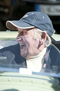Norman Dewis at the 2012 Mille Miglia.