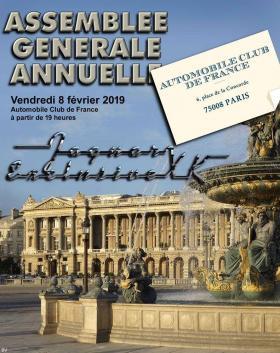 Rapport Assemblée Générale du JEXK durant RETROMOBILE