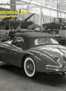 Usine de Browns Lane, Roadster XK150, Septembre 1957